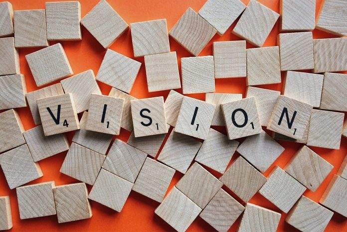 Vision to represent setting investment goals